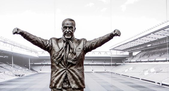 Bill Shankly, Liverpool FC's most esteemed manager