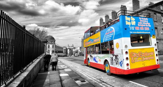 why choose a bus for your sightseeing tour over walking?