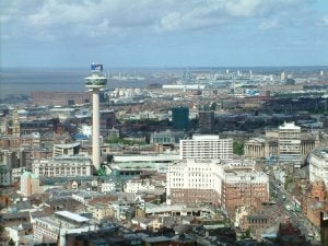 Views across Liverpool - Anglican Cathedral Tower
