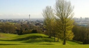 Views across Liverpool - Everton Park