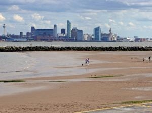 Views across Liverpool - New Brighton
