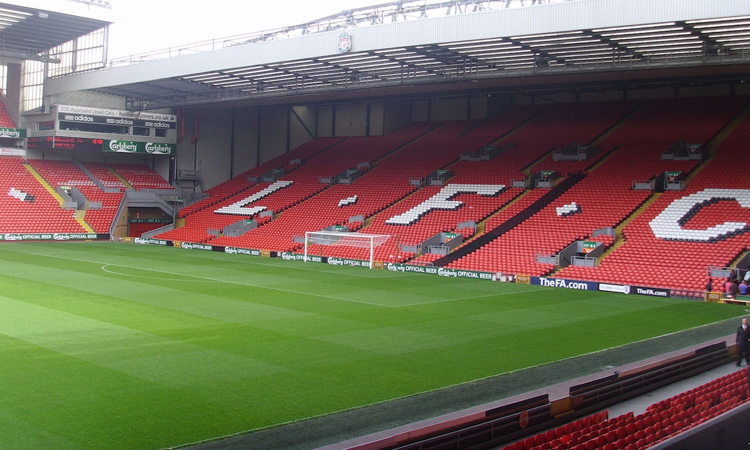 Image result for anfield stadium
