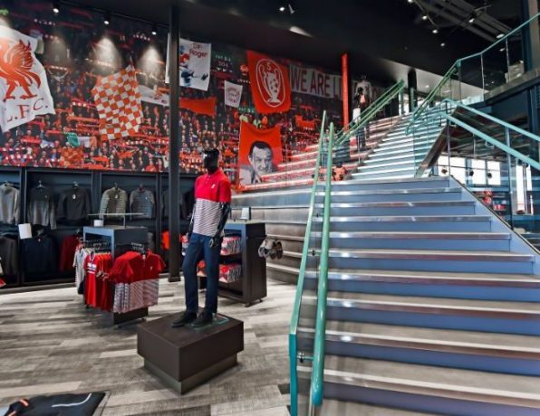 get the ultimate shopping experience at liverpool fc's flagship anfield store