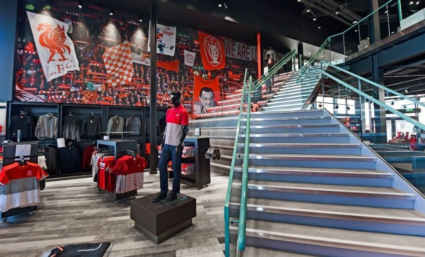 a322b7e4cd2 Get the Ultimate Shopping Experience at Liverpool FC s Flagship Anfield  Store